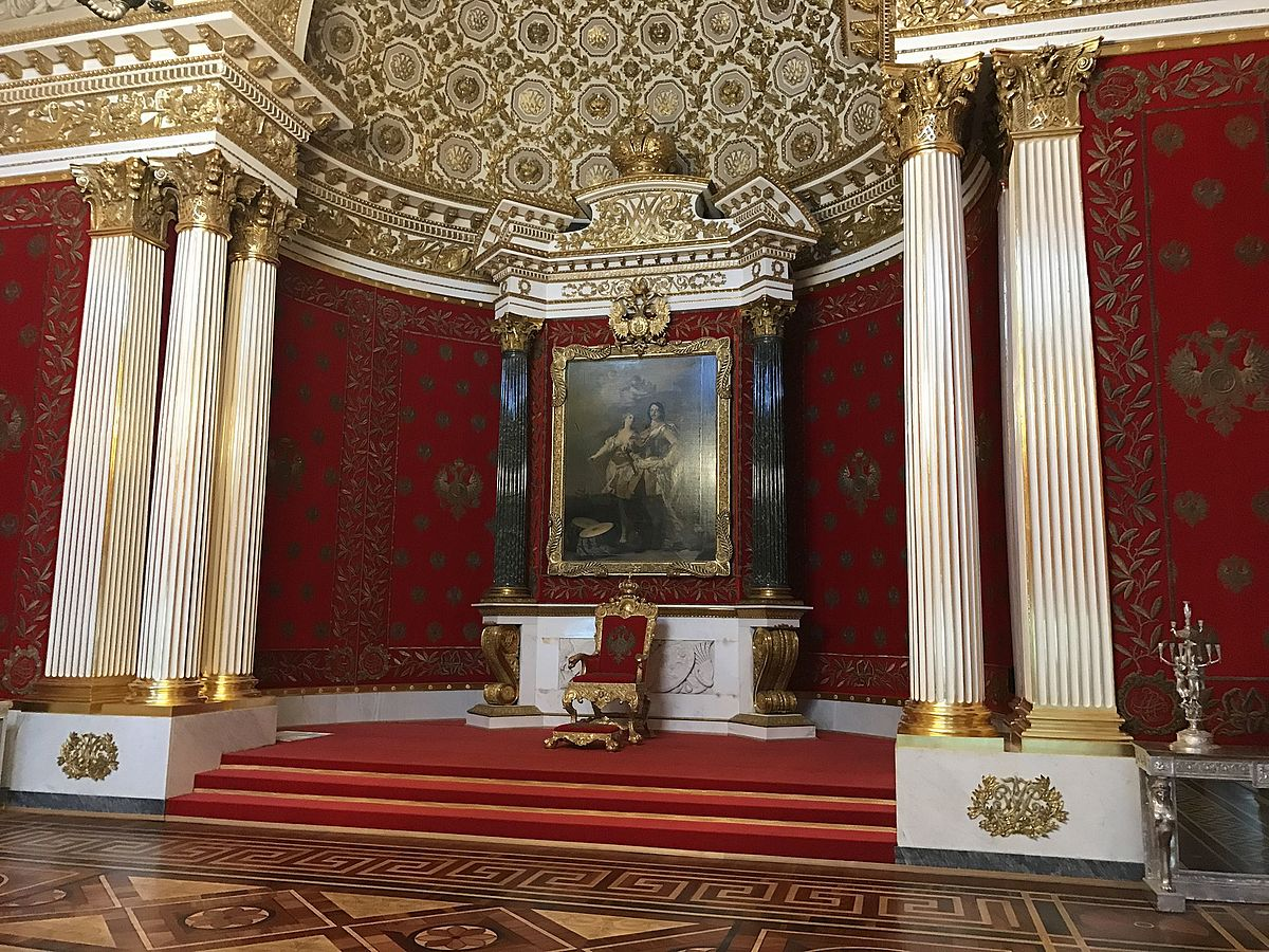 Small Throne Room of the Winter Palace  Wikipedia