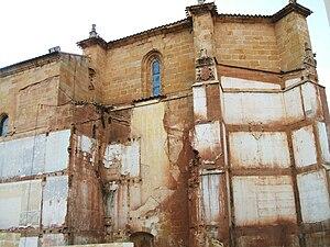 English: Ábside descubierto de la Iglesia de S...