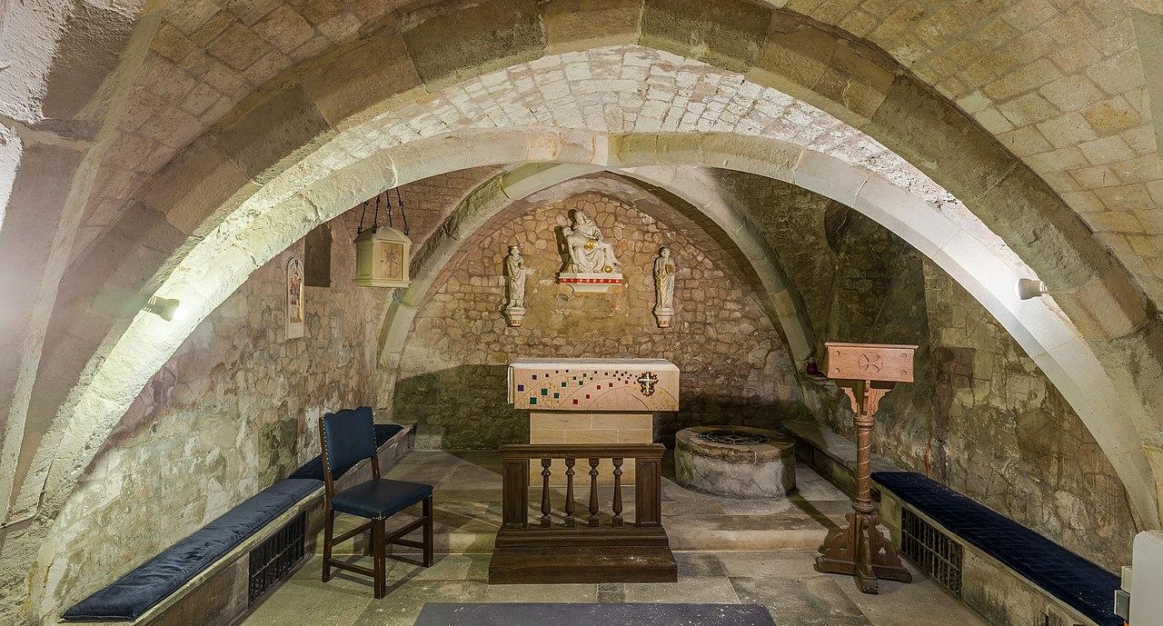 FileSt Olave Hart Street Church Crypt London UK
