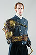 English: Steampunk image of author G. D. Falks...