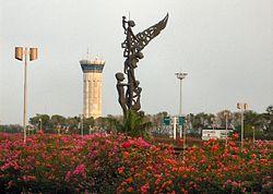 Sukarno hatta airport - Tower - Jakarta - Indonesia.jpg