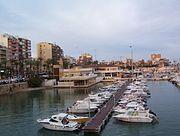 Vista del puerto deportivo