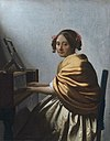 Vermeer - A young Woman seated at the Virginals.jpg