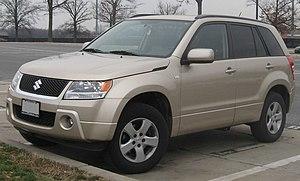 2006-2008 Suzuki Grand Vitara photographed in ...