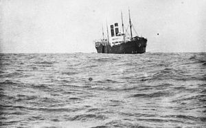 AWM Caption: The troopship Southland, carrryin...