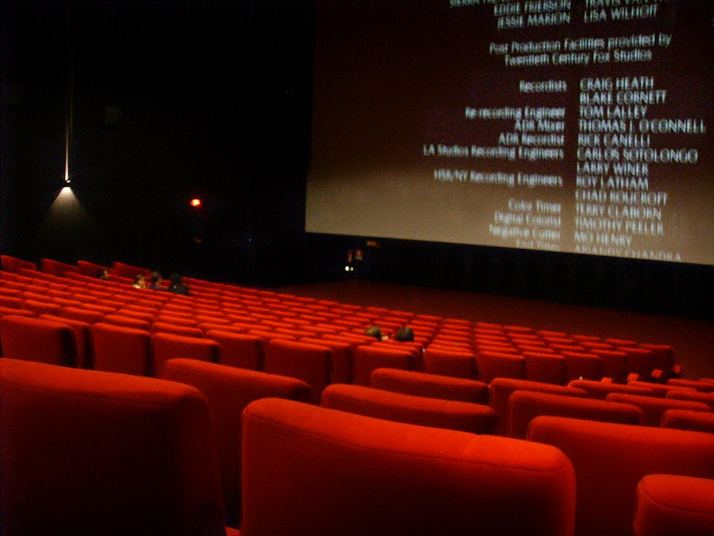 Interno di un sala da cinema