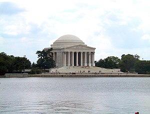Jefferson Memorial in Washington, D.C., viewed...