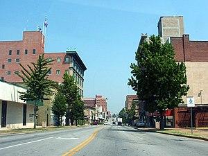 Main Street in Joplin, Missouri
