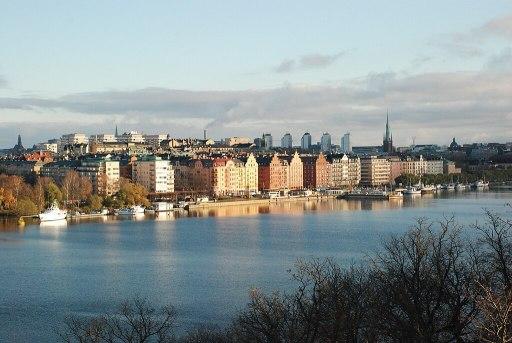 Kungsholmen Skyline and Shoreline
