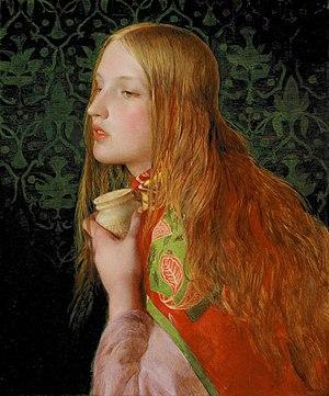 English: Mary Magdalene, Oil on wood panel, Sa...