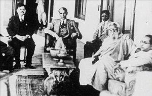 English: Muhammad Ali Jinnah, Periyar E.V. Ram...