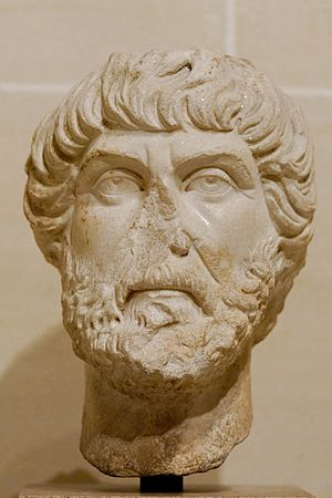 Portrait of a philosopher or an orator. Marble...