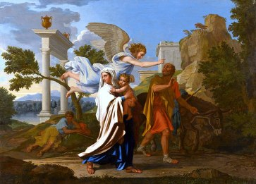 la fuite en egypte- Nicolas Poussin