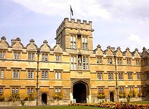 The main quadrangle of University College