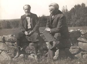 Portrait of William James and Josiah Royce
