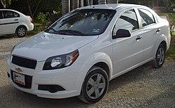 Chevrolet Aveo  Wikipedia la enciclopedia libre