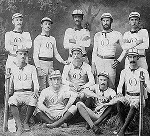 Baseball uniform(s) in the 1870's