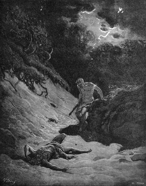 Cain mata a Abel (Gustavo Doré)