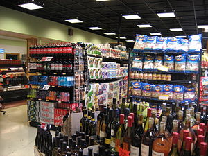 New Orleans: Interior of grocery store in Espl...