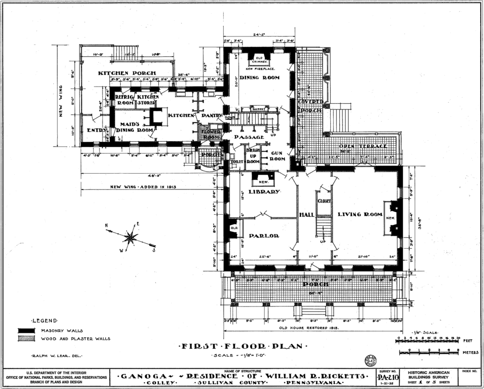 Exiss Wiring Diagram File Clemuel Ricketts House Drawing 1 Png Wikimedia Commons