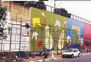 Street Art in Cuiabá.