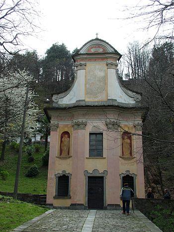 Deutsch: Domodossola, Italien, Sacro Monte, St...