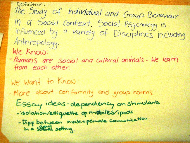 Social psychology psychologyTutorialsIntroduction