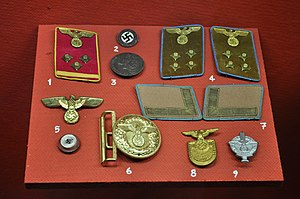 Ranks and Insignia of the Nazi Party (2/6)