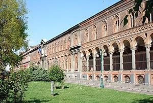 Facciata della sede dell'Università Statale di...