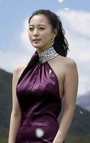 English: Actress Han Ye Seul