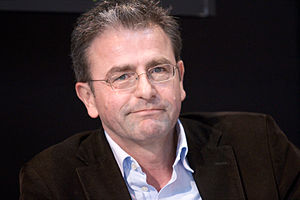 Français : L'auteur danois Jens Christian Grøn...
