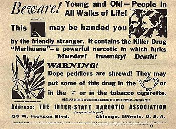 An advertisement distributed by the Federal Bu...