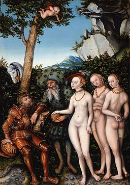 Lucas Cranach the Elder - Judgment of Paris