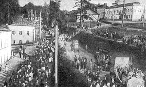 May day demonstration