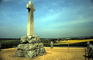 Memorial on the site of the Battle of Flodden ...