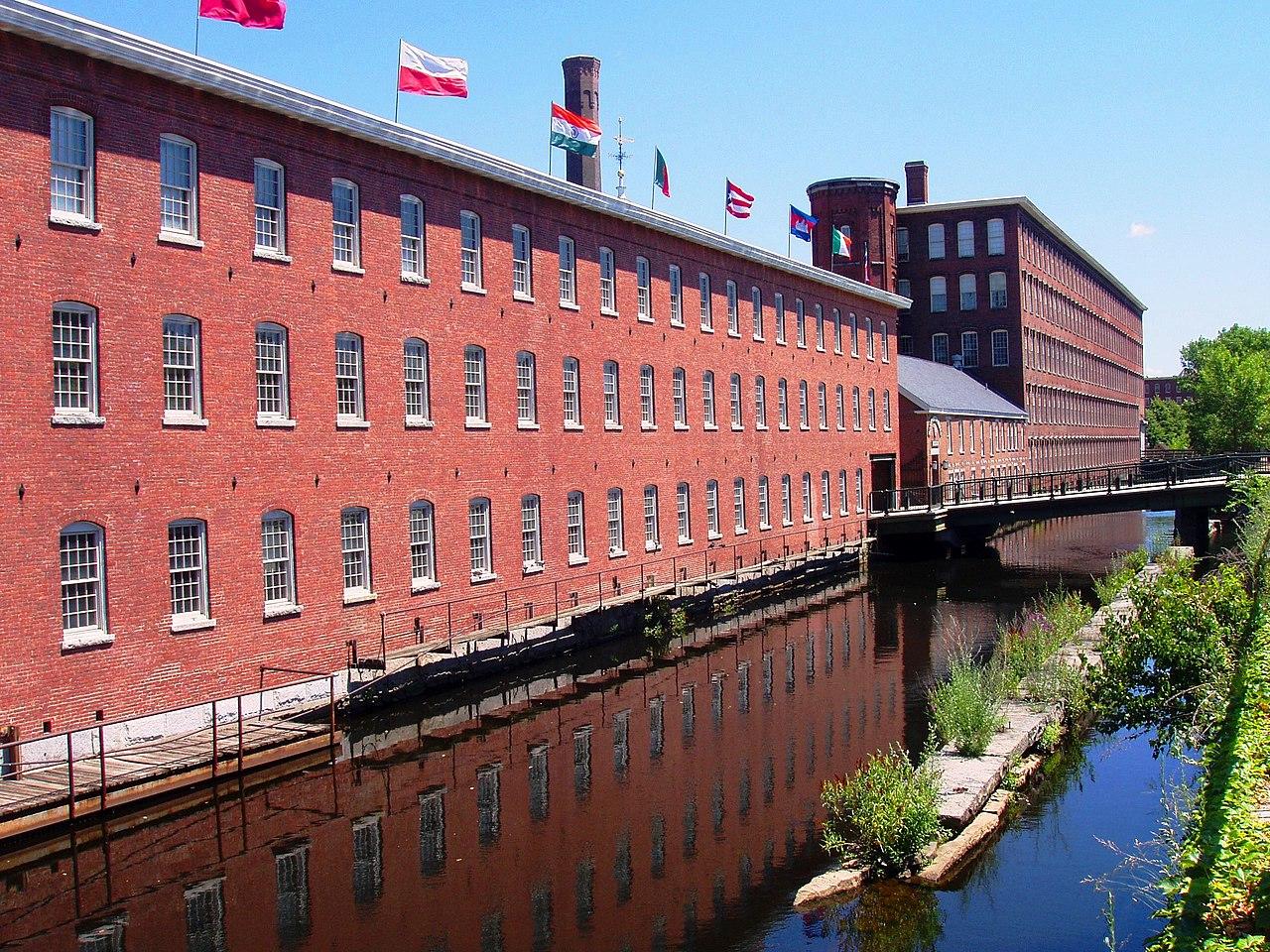 Filemill Building (now Museum), Lowell, Massachusettsjpg