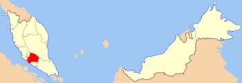 Negeri Sembilan in Malaysia