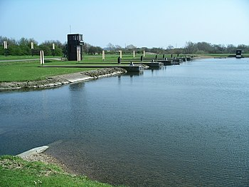 National Watersports Centre, the regatta lake, NE end - geograph.org.uk - 385174