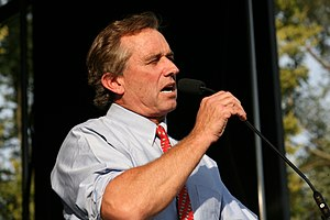 Deutsch: Robert Kennedy Jr. in Urbana, IL Engl...