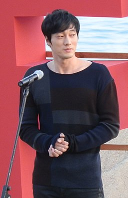 So Ji-sub at 2011 Busan International Film Festival