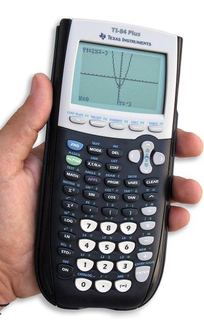 Graphing calculator - Wikipedia