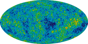 WMAP image of the (extremely tiny) anisotropie...