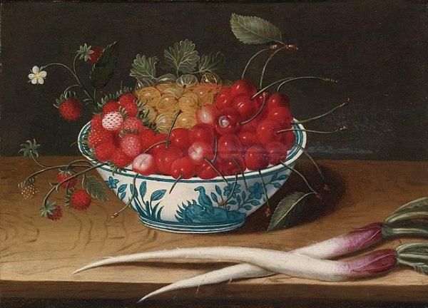FileAbraham Gibbens Still Life with Strawberries
