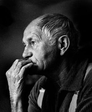 El escritor checo Bohumil Hrabal.