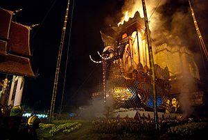 Chan Kusalo cremation 40
