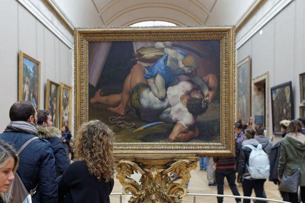 File David And Goliath Daniele Da Volterra Louvre Inv
