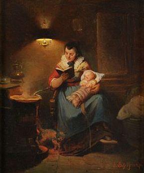Eduard Geselschap Die Gutenachtgeschichte