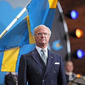 Carl XVI Gustaf, King of Sweden, on Sweden's N...
