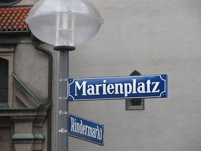 Marienplatz muenchen110308
