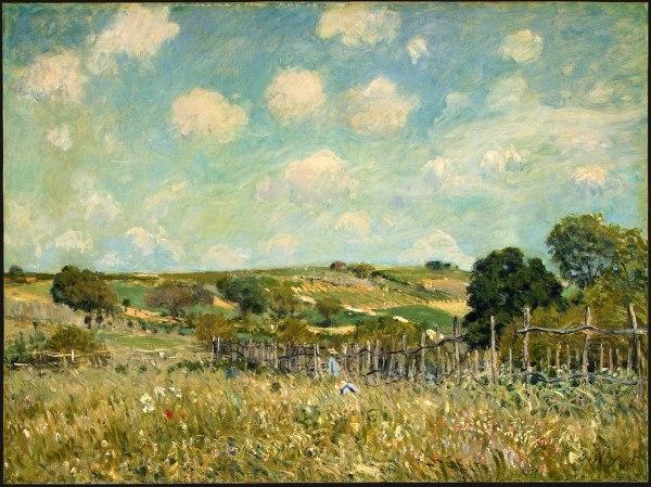 File Meadow Alfred Sisley - Wikipedia